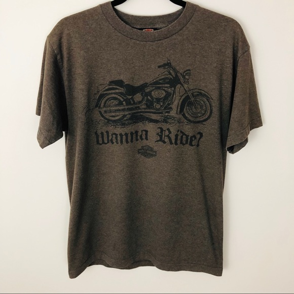 "Harley-Davidson Other - Harley-Davidson Munster, IN ""Wanna Ride"" tee"